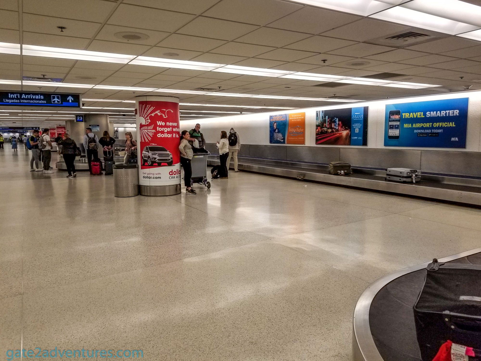 Travel Tip of the Week: Stop for A Snack Before you go to the Baggage Claim in MIA