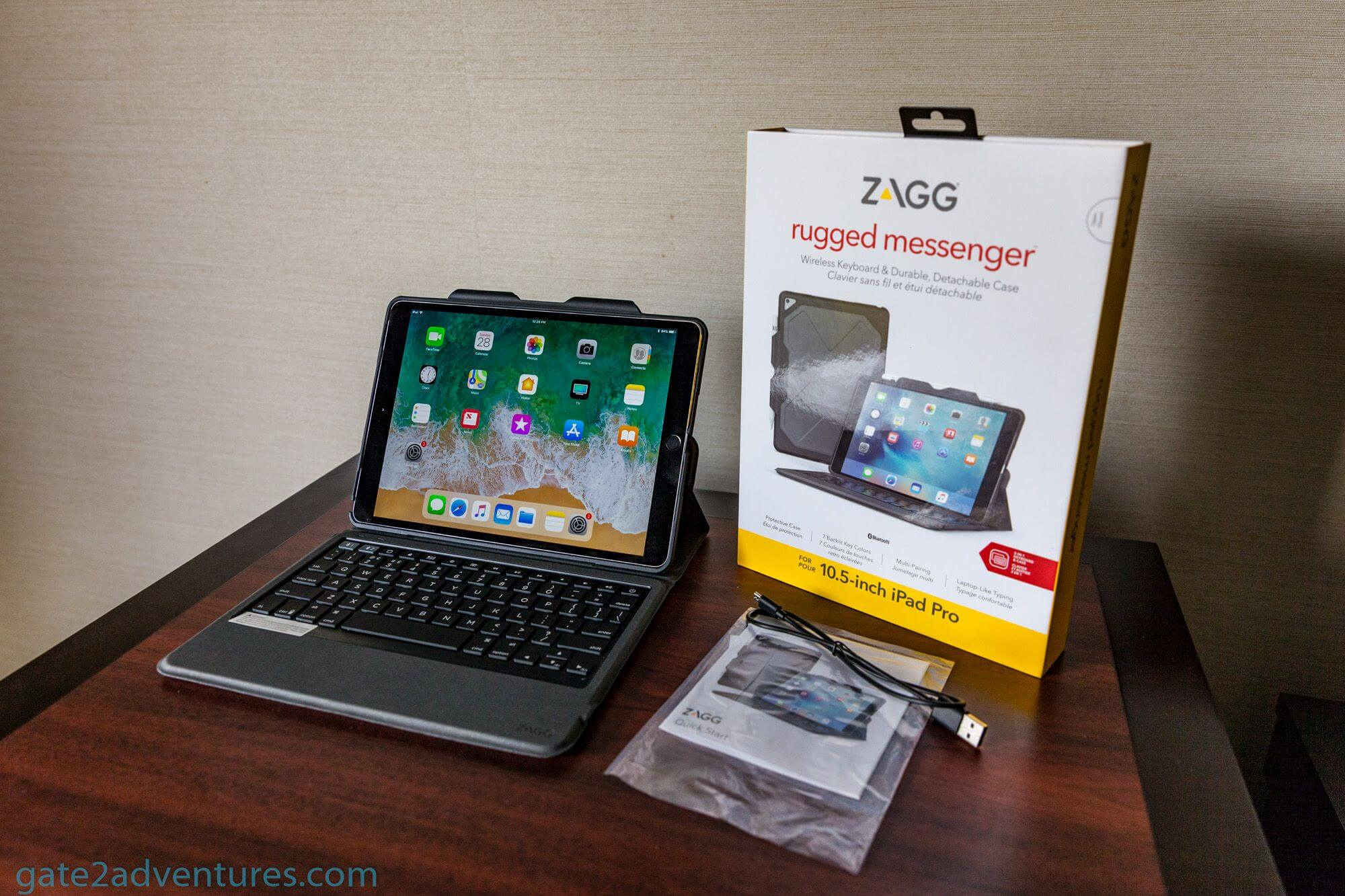 9f9a54d58e4 Travel Gadget Review: Zagg Rugged Messenger for the Apple iPad Pro ...