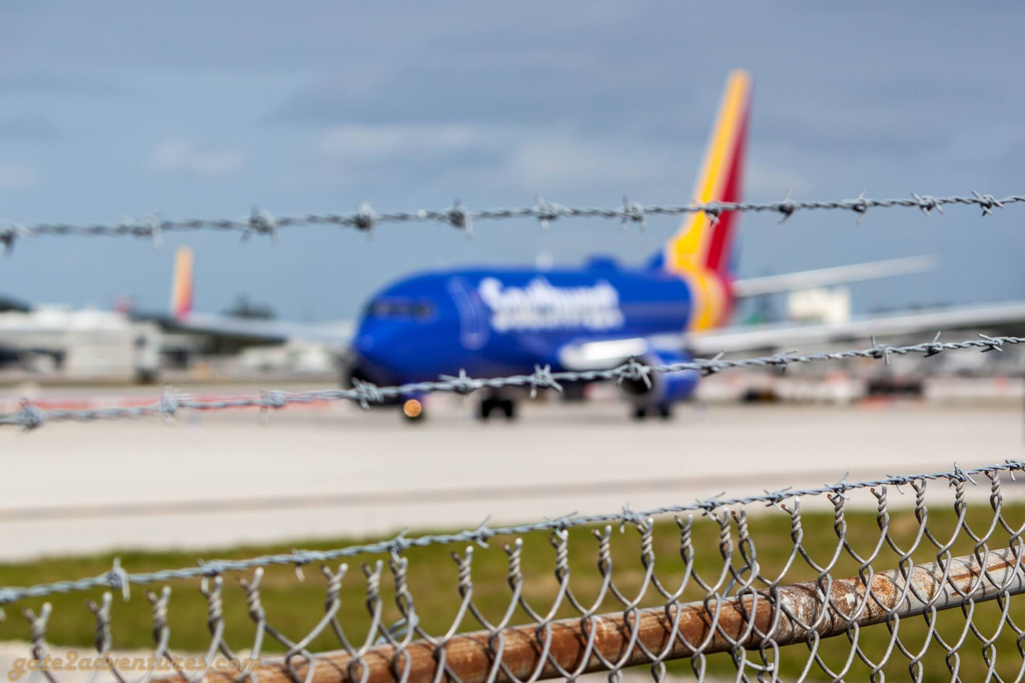Southwest Airlines Boeing 737 @ FLL